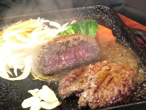 お昼のハンバーグ(140g) 980円