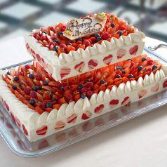 ... オリジナルウエディングケーキ