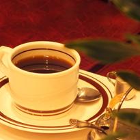 ▲水素水で淹れたコーヒー喫茶ゆうらく(浅草橋)