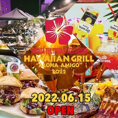 ノルベサ ビアガーデン THE TERRACE BEER GARDEN Hawaiian Grill